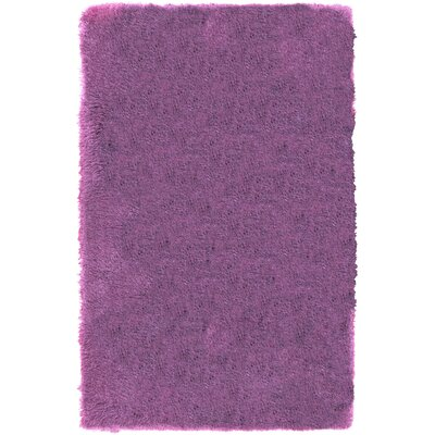 Carlene Hand-Tufted Lavender Area Rug Rug Size: Rectangle 8' x 10'