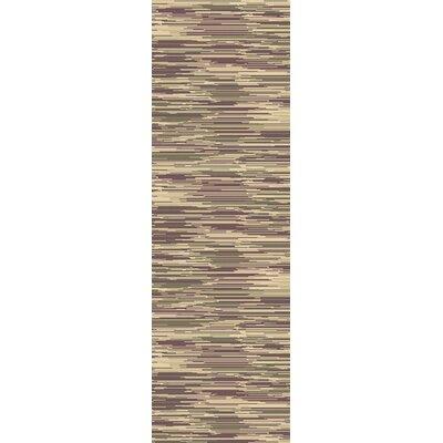 Westville Gray Area Rug Rug Size: Runner 26 x 8