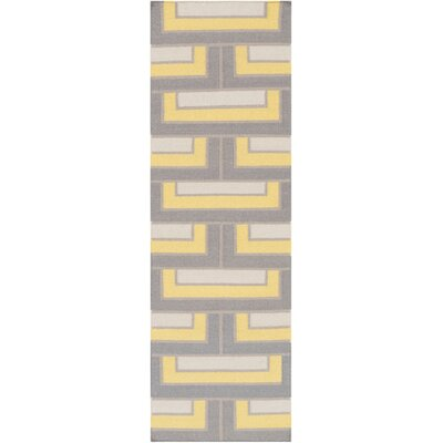 Durgan Geometric Area Rug Rug Size: Runner 26 x 8