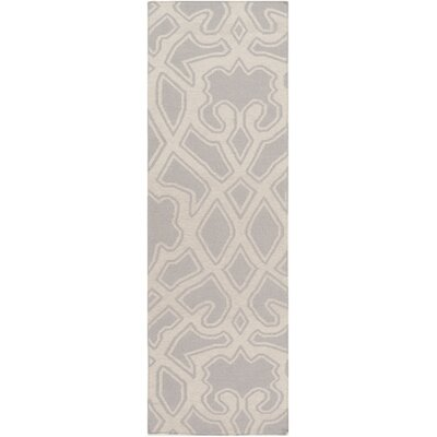 LaGrange Gray Area Rug Rug Size: Runner 26 x 8