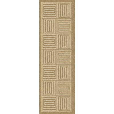Mystique Wool Olive Area Rug Rug Size: Runner 26 x 8