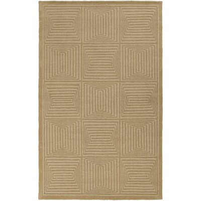 Mystique Wool Olive Area Rug Rug Size: Rectangle 5 x 8