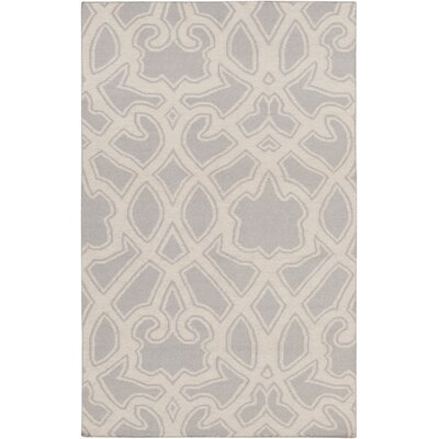LaGrange Gray Area Rug Rug Size: Rectangle 33 x 53