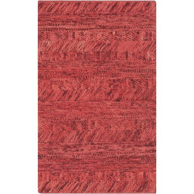 Shelton Cherry Area Rug Rug Size: 9 x 13