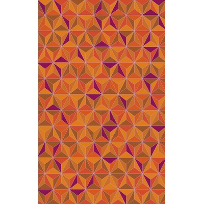 Denver Magenta Area Rug Rug Size: Rectangle 8 x 10