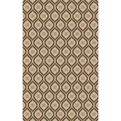 Houseman Taupe Area Rug Rug Size: 5 x 8