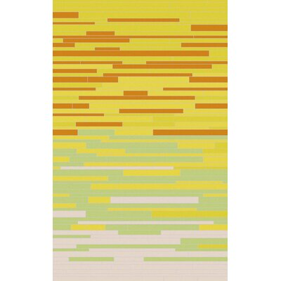 Denver Lemon/Lime Area Rug Rug Size: Rectangle 2 x 3