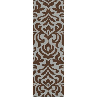 Maywood Chocolate Area Rug Rug Size: Rectangle 8 x 11