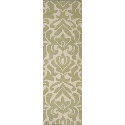 Maywood Sage Area Rug Rug Size: Runner 26 x 8