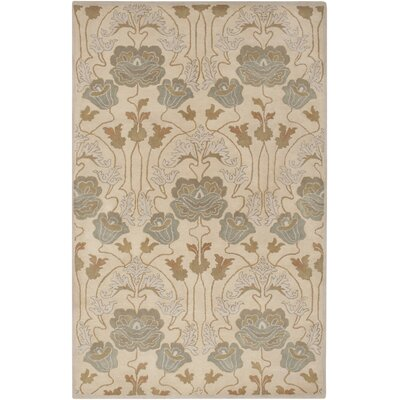 Burtt Beige/Brown Ikat Rug Rug Size: Rectangle 5 x 8