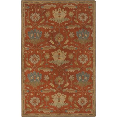 Burtt Tan Ikat Rug Rug Size: Rectangle 5 x 8