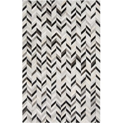 Janelle Light Gray Area Rug Rug Size: Rectangle 5 x 8