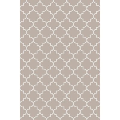 Palladio Hand-Woven Gray Area Rug Rug Size: Rectangle 2 x 3