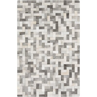 Harvey Light Gray/Taupe Area Rug Rug Size: 5 x 8