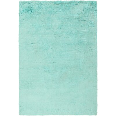 Helen Hand-Tufted Mint Area Rug Rug Size: 8 x 10