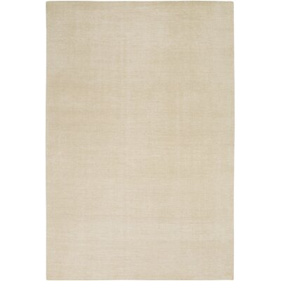 Eberly Beige Solid Area Rug Rug Size: Rectangle 8 x 11