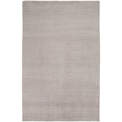 Eberly Gray Solid Area Rug Rug Size: Rectangle 36 x 56