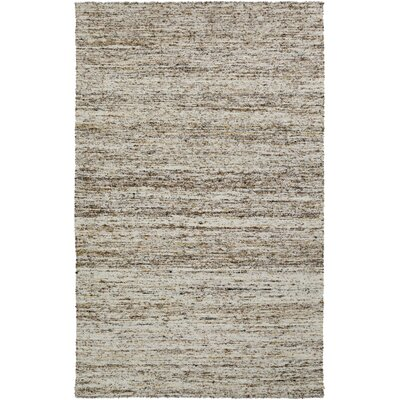 Bilski Light Gray Area Rug Rug Size: Rectangle 5 x 8