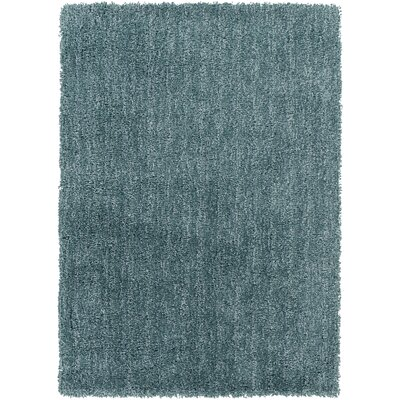 Hallum Dark Robins Egg Blue/Winter Sky Blue Rug Rug Size: 2 x 3