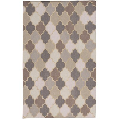 Crispin Hand Woven Brown/Beige Area Rug Rug Size: Rectangle 2 x 3