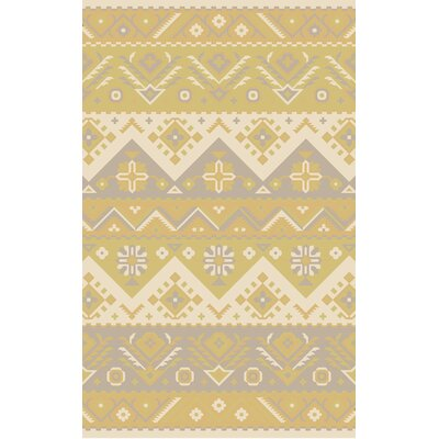 Double Mountain Cream Area Rug Rug Size: Rectangle 2 x 3
