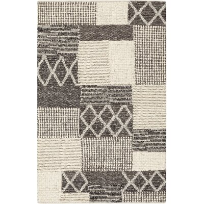 Springwater Gray/Beige Geometric Rug Rug Size: Rectangle 5 x 76