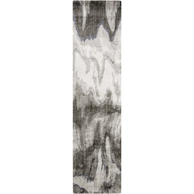 Scylla Gray Area Rug Rug Size: Rectangle 33 x 53
