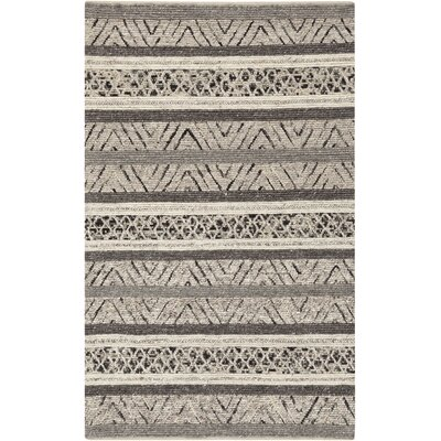 Lloyd Hand Woven Wool Gray Area Rug Rug Size: Rectangle 5 x 76