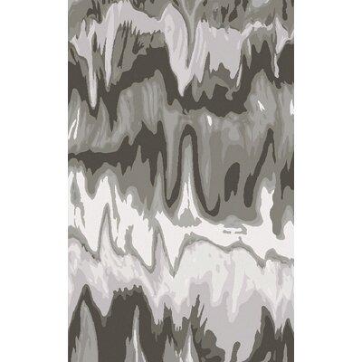 Scylla Gray Area Rug Rug Size: 5 x 8