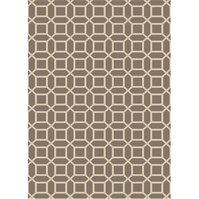 Brock Brown Geometric Area Rug Rug Size: Rectangle 8 x 10