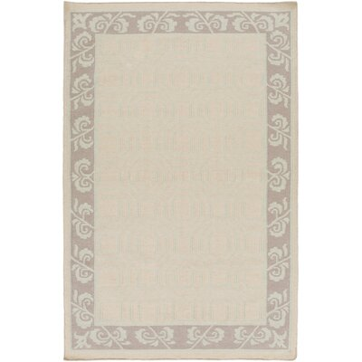 Morehead Beige Area Rug Rug Size: Rectangle 5 x 8