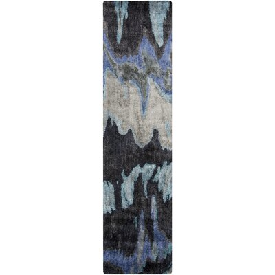 Scylla Navy Area Rug Rug Size: Rectangle 33 x 53