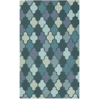 Crispin Mint Geometric Area Rug Rug Size: Rectangle 4 x 6
