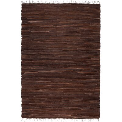 Fairway Chocolate Area Rug Rug Size: Rectangle 4 x 6