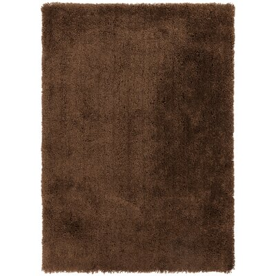 Hallum Mocha Rug Rug Size: Rectangle 76 x 96