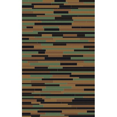 Denver Tan Area Rug Rug Size: 8 x 10