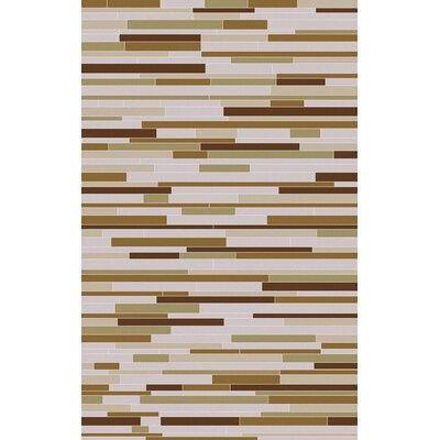 Denver Taupe Area Rug Rug Size: Rectangle 2 x 3
