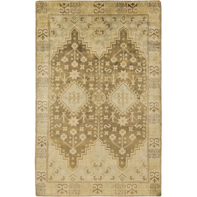 Norton Olive Area Rug Rug Size: Rectangle 56 x 86