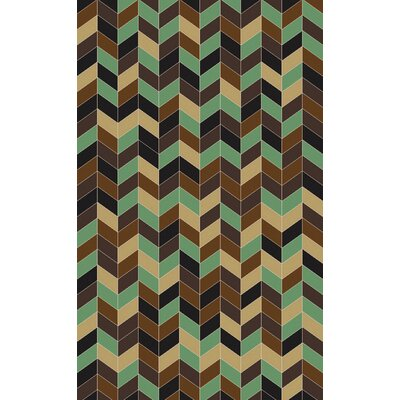 Denver Mocha Area Rug Rug Size: Rectangle 5 x 8