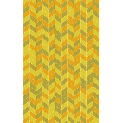 Denver Gold/Sunflower Area Rug Rug Size: 5 x 8