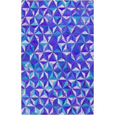 Denver Violet/Aqua Area Rug Rug Size: Rectangle 5 x 8