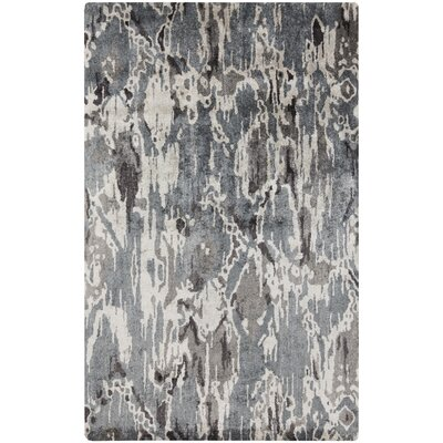 Harbor View Black/Gray Area Rug Rug Size: 33 x 53