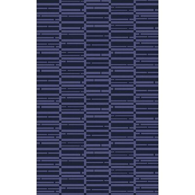 Jone Navy/Iris Area Rug Rug Size: Rectangle 8' x 11'