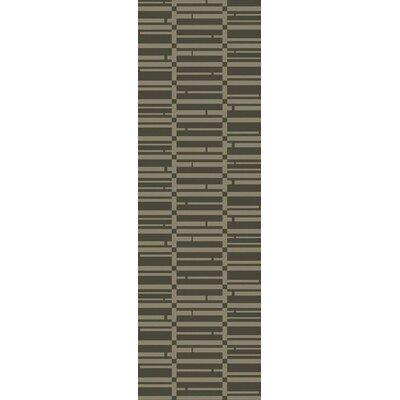 Jone Olive Area Rug Rug Size: Runner 26 x 8