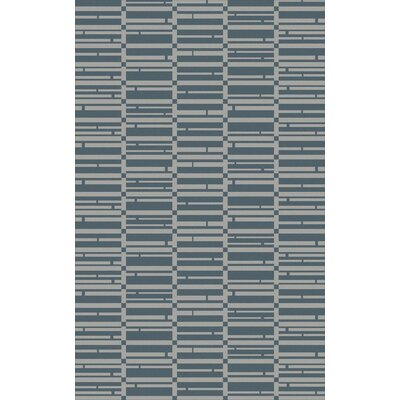 Jone Teal/Slate Area Rug Rug Size: 2 x 3