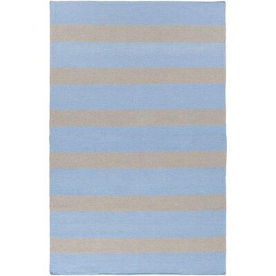 Peugeot Sky Blue/Light Gray Indoor/Outdoor Area Rug Rug Size: Rectangle 2 x 3