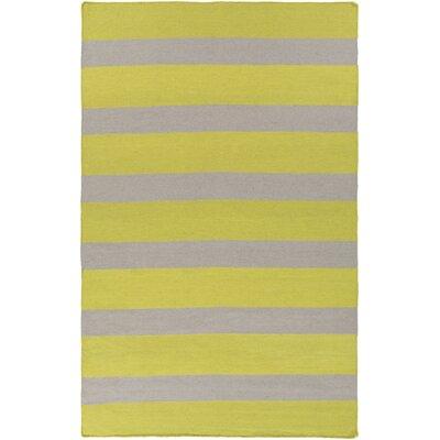Surya Lagoon Lime/Light Gray Indoor/Outdoor Area Rug - Rug Size: 5' x 8'