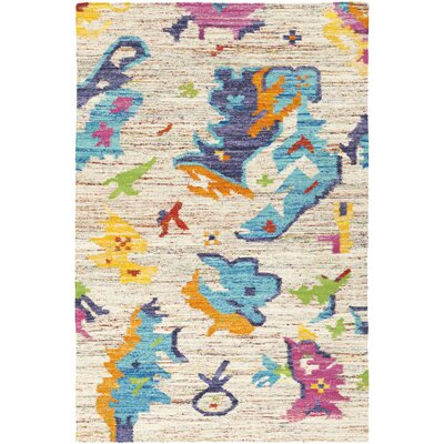Brianne Ivory Area Rug Rug Size: Rectangle 5 x 8