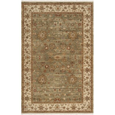 Derosier Asparagus Green Area Rug Rug Size: Rectangle 2 x 3