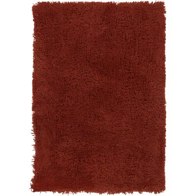Braun Rust Red Area Rug Rug Size: 2 x 3